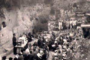 Garden Tomb Easter 1970