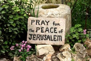 Pray for peace in Jerusalem