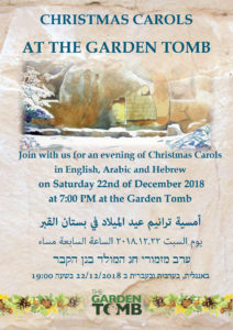 Christmas Carols at the Garden Tomb